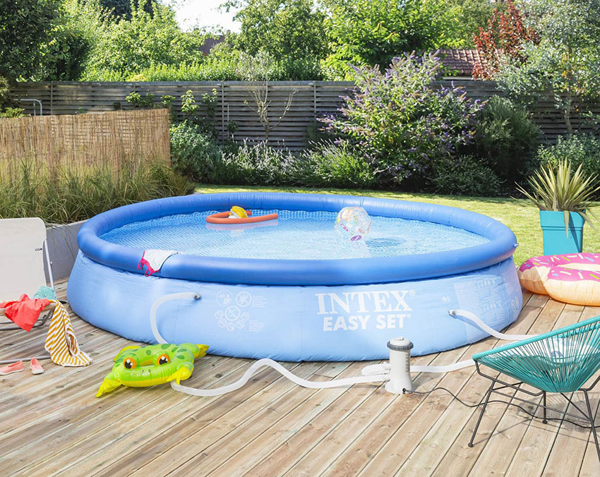 Piscine hors sol autoportante Intex